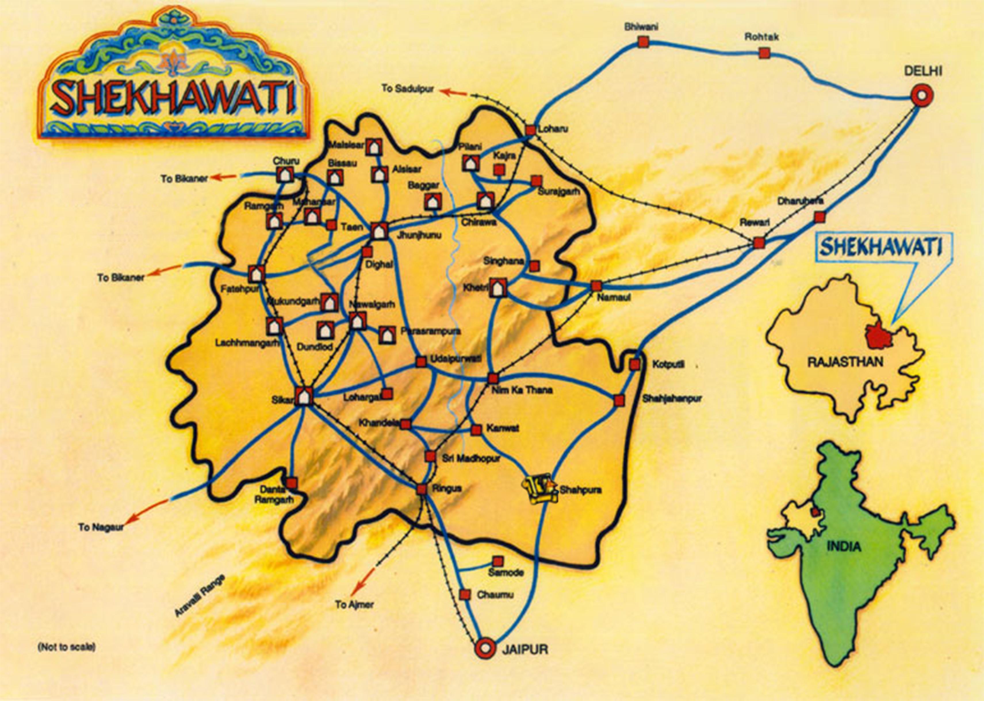 map shekhawat